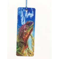 Cartoon 3D Lenticular Bookmark , Custom Bookmark With Tassel Animal Style Manufactures