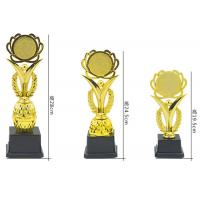 Custom Plastic Trophy Cup Blank Plate Type For Sports Champions Awards Manufactures