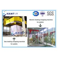Gas Heating Pallet Wrapping Equipment , Automatic Wrapping Machine CE Certification Manufactures