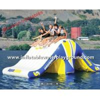 Fantastic 0.9mm PVC Inflatable Revolution For Water Games On Lake Manufactures