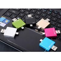China Metal OTG USB Flash Drive 16GB , Encrypted Micro USB OTG Flash Drive on sale