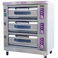 Quality Luxury Commercial Pizza Oven With Microcomputer Control 3 Layer 6 Trays for sale