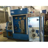 Blue High Durability Pulley Wire Drawing Machine For Copper Drawing And Annealing Manufactures