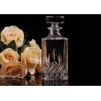 Hand Made Colored Glass Wine Bottles With Corks , Luxury Wine Bottle Manufactures