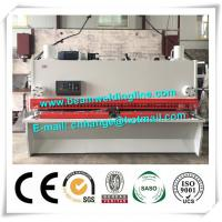 QC11Y NC Hydraulic Shearing Machine , Guillotine Type Steel Plate Bending Machine E21 Manufactures