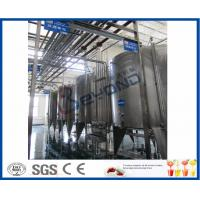 China Juice Tea Beverage Production Line , Food And Beverage Service Equipments on sale