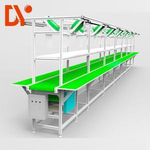 Vertical Conveyor Assembly Line Work Tables DY46 For Workshop Material Transmission