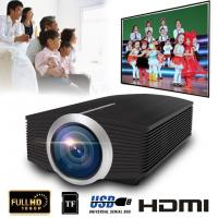 YG500 Mini Projector 1080P home theater 5.1 Portable 1800Lumen LED Projector Home Cinema USB HDMI 3D Beamer Bass Speaker Manufactures