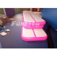 Customized Size Inflatable Air Track Mattress with 1 year Warrantry Manufactures