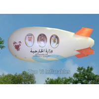 Waterproof Fabric Big Inflatable Missile Airship Zeppelin For Advertising Manufactures