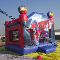 Inflatable Spider Man Castle  inflatable jumping castle   bounce house Manufactures