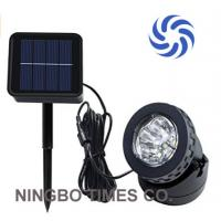 Eco Friendly Solar Powered Landscape Lights , Bright Solar Spot Lights For Park Manufactures