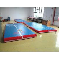 Commercial Grade Inflatable Tumbling Air Track Mat for Gym Sport Manufactures