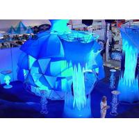 Transparent Waterproof Dome Tents For Party Events With Clear Pvc Fabric For Fashion Shows Manufactures