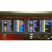 Anti Interference Ability Passenger Flight Information Display For Hongkong Airport Manufactures