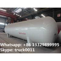CLW brand 35 metric tons bullet type stationary  surface lpg gas storage tank, best price CLW brand 35tons lpg gas tank Manufactures