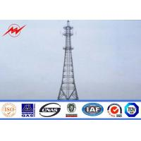China 30m / 60m Conical 138kv Power Transmission Tower Power Transmission Pole on sale