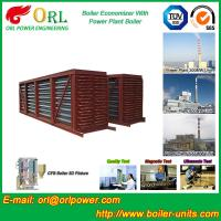 Steel Condensing Economiser In Steam Power Plant , Economizer Power Plant Manufactures