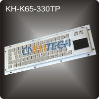 Stainless stee keyboard with touchpad Manufactures
