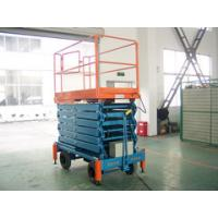 14 Meters Hydraulic Mobile Scissor Lift with 500Kg Loading Capacity Manufactures