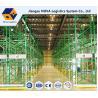 Warehouse Industrial Storage, Q235B Pallet Storage ShelvesFor Handling Equipment Manufactures