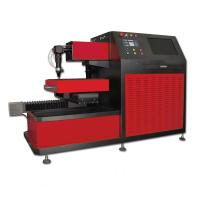 Small CNC Laser Cutter for Saw Blade , Ironware Cutting Gas Oxygen Nitrogen or Air Manufactures