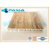 Travertine Stone Honeycomb Ceiling Panels , Lightweight Stone Panels Moistureproof Manufactures