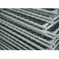 Buy cheap Construction Chain Link Fencing Panels OD 32mm*1.6mm 6'x12' 25mm Outer Tube Mesh aperture from wholesalers