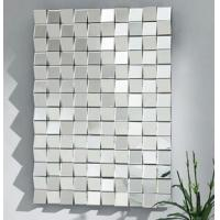 Hanging Framless 3D Wall Mirror For Home Decorative Beveled Edge 80 * 120cm Manufactures