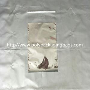 Gravure Printing Self Adhesive Plastic Bags One Side Aluminum Foil Transparent Manufactures