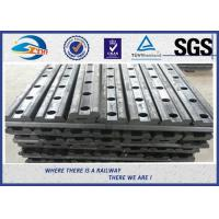 4 Holes 50# Railway Fishplate Steel Railroad Rail Joint Bar With Oxide Black Manufactures