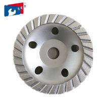 Carbon Steel Diamond Cup Wheel With Turbo Wave For Grinding Granite Stone Manufactures