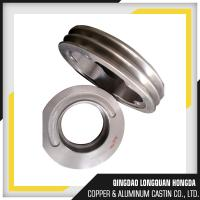 Surface Finishing A356 T6 Aluminum Belt Pulleys CNC Machining Double V Belt Pulley Manufactures