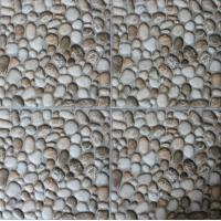 Imitation Stone Printing Ceramic Tile Flooring No Visible Defects Surface Manufactures