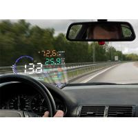 A8 5.5 Inch Vehicle Heads Up Display Speed Fuel Consumption With Reflecting Film Manufactures