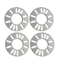 Flat Universal Car Wheel Spacers 9 Millimeter For Most 4 And 5 Studs Vehicles Manufactures
