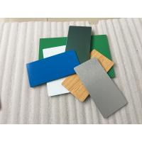 Pearl Blue PVDF Aluminum Composite Panel Heat Insulation For Wall Cladding Manufactures