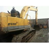 Quality SECONDHAND SUMITOMO USED EXCAVATOR S280F2 FOR SALE ALSO HITACHI EX200-1 for sale