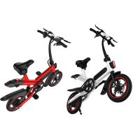 Compact Size Small Folding Electric Bike 36V 10AH Battery 17.5KG 107 * 45 * 100CM Manufactures