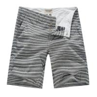 Yarn Dyed Striped Mens Summer Shorts With White Cotton Inner Lining Manufactures
