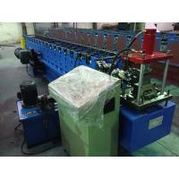 0.8 - 1.2mm Steel Stud Roll Forming Machine / Roll Former With Manual Decoiler
