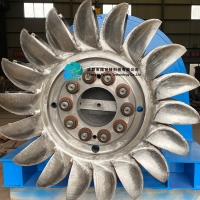 China 100m Hydro Pelton Turbine Generator Water Wheel Power on sale