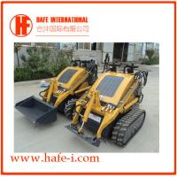 powerful   wheel Mini skid steer loader SSL-C300B USA Briggs&Stratton engine(23hp), bucket 0.15m3, Solid Tyres Manufactures