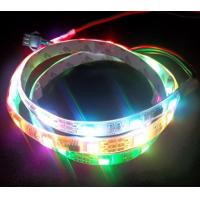 Non-Waterproof RGB color Digital led strip light 32leds/m Manufactures