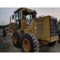 Quality Year 2016 Used Motor Grader CAT 140K , Grader Heavy Equipment With Push Block for sale