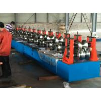 Freeway Barrier Profile Roll Forming Machine Cold Bending Use Multi-rollers Stations by Huge Power 45 Kw Motor Manufactures