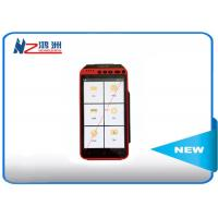 Mobile Point Of Sale Devices Android POS Terminal Barcode Scanner Handheld Pos With Printer Manufactures
