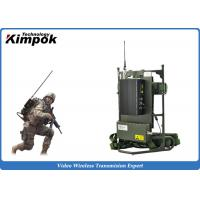 Buy cheap Military Backpack Wireless Video Transmitter 2~5W RF COFDM Wireless Sender NLOS from wholesalers