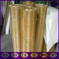 16 mesh ,wire dia 0.4mm, aperture 1.18mm plain weave brass wire mesh Manufactures