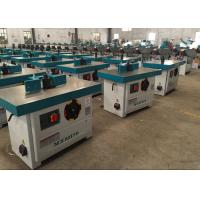 China Wood Processing Portable Spindle Moulder Double Heads With 1130*670mm Table on sale